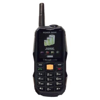 BrandCode B81 - 10000mAh - Dual SIM - Hitam