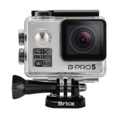 Brica B-PRO 5 Alpha Edition Mark II AE2 4K WIFI Action Camera - Silver