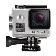 BRICA B-PRO 5 Alpha Edition Version 2 (AE2) 4K WIFI Action Camera - Silver