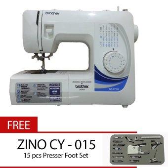 BROTHER GS 2700 Mesin Jahit Portable + Gratis Zino CY-015