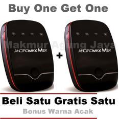 . Buy One Get One Smartfren Andromax M2Y Modem MiFi - Hitam Garis merah