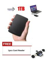 Buy1Free1,New High Speed USB3.0 1TB External Hard Drives Portable Mobile Hard Disk - intl