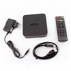 BUYINCOINS MXQ Amlogic S805 Android 4.4 Quad Core 8GB XBMC 1080P WiFi KODI Smart TV Box EU Plug