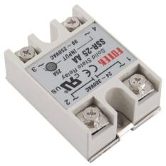 BUYINCOINS New 25A AA Solid State Relay SSR AC 90-250.24-380V For Temperature Controller