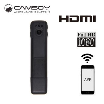 C11 Mini DV WiFi Camera Micro HD 1080P Video Mini Wireless Camera Pen Wearable Camera With Night Vision Portable Digital Kamera - intl