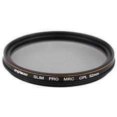 CACAGOO CPL Circular Polarizer Filter Photography Multi-coated Optical Glass Lens Filter For Canon Nikon Sony Pentax DSLR Camera
