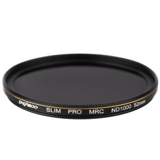 CACAGOO ND1000 Filter Neutral Density Ultra Slim Multi-Coated Lens Filter 10 Stop Optical Glass For Nikon Canon Olympus Pentax DSLR Camera