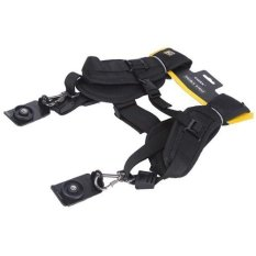 Caden Quick Rapid Shoulder Neck Strap Belt For DSLR Camera - Hitam