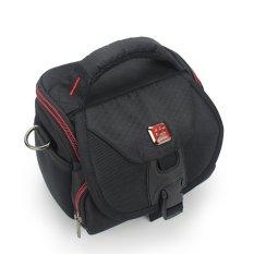 Camera Pack Portable Camera Case Bag Waterproof Casual Shoulder Bag Camera Bag Canon Nikon Photographic Package Nylon Cover Type Micro Single Camera Bag - Intl