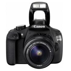 CANON EOS 1200D IS KAMERA DSLR LENSA KIT 18-55mm IS II - 18 MP - Hitam
