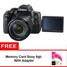 Canon EOS 750D Kit 18-55mm IS STM - 24 MP - Wifi + Gratis Memory Sony 8gb