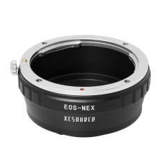 Canon EOS Lens To Sony E-Mount Adapter For NEX NEX-7 NEX-5N NEX-C3 NEX-VG10 DC048-SZ (Black)