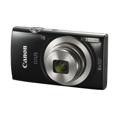 Canon IXUS 185 - 20 MP - 8x Optical Zoom - Hitam