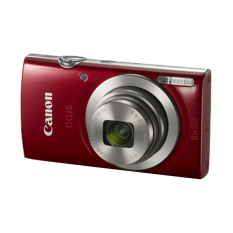 Canon IXUS 185 - 20 MP - 8x Optical Zoom - Merah
