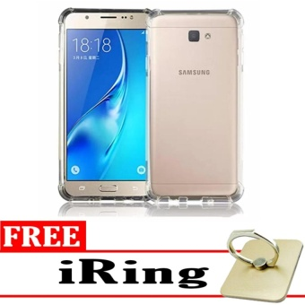... Case Anti Shock Anti Crack Elegant Softcase for Samsung Galaxy J7Prime Clear Free