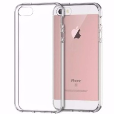 Case Anti Shock Anti Crack Softcase Casing for iPhone 5/5s - Clear