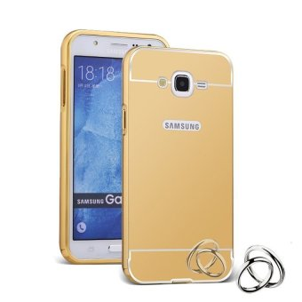Case For Samsung Galaxy J3 2016 Bumper Slide Mirror