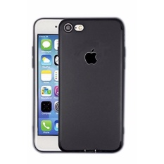Case Iphone | Slim Silicone Apple Logo Iphone 5|5s|5SE - Black