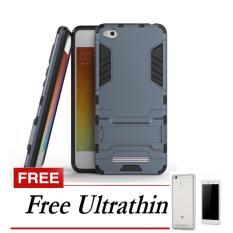 Case Kickstand Hybrid Armor Iron Man PC+TPU Back Cover Case for Xiaomi Redmi 4X