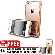 Case Metal for Apple iPhone 5 / 5s / 5G Aluminium Bumper With Mirror Backdoor Slide