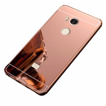 Case Metal for Xiaomi Redmi 4 Pro Aluminium Bumper With MirrorBackdoor Slide - Rose Gold