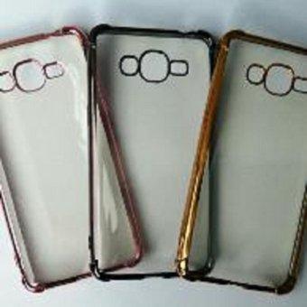 Case Samsung Galaxy J1 Ace J110 Shiny Crome Anti Crack Shock Knock Softcase Casing Cover Sarung