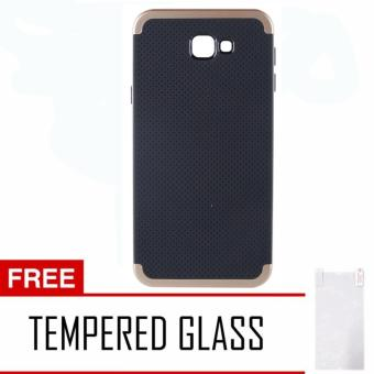 Case Samsung Galaxy J5 Prime iPaky Neo Hybrid - Gold + Free Tempered Glass