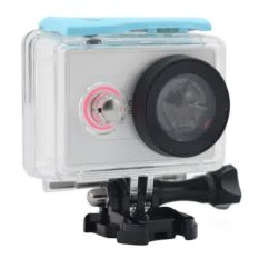 Case Underwater Waterproof Anti Blur Case IPX6.40m For Xiaomi Yi Sports Camera - Biru