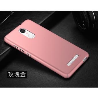 Calandiva Dragon Shockproof Hybrid Case for Xiaomi MI 5C - Hitam + Rounded Tempered Glass.
