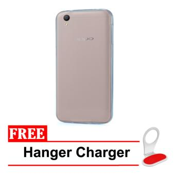 Casing Handphone Softcase Ultrathin Oppo Neo 9 / A37 + Free HangerCharger