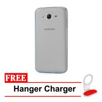 Case Anti Crack Elegant Softcase For Samsung Galaxy J1 Ace Clear Source · Transparan Update Source