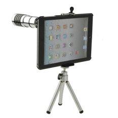 CatWalk 12X Zoom Camera Tablet Telescope Lens Case Cover + Tripod For Apple IPad Mini (Intl)