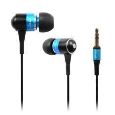 CatWalk Bass Headset Stereo Headphone Earphone Earbud For IPhone Samsung In-ear 3.5mm (Blue)