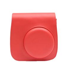 Classic PU Leather Camera Case Bag For Fujifilm Instax Mini8 / Mini8s (Red)
