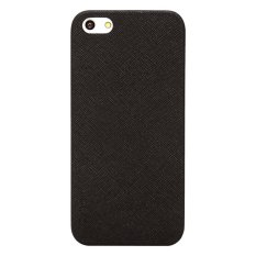 Colorant iPhone 5 Thin Leather Shell - Hitam