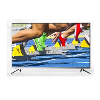 "Coocaa LED TV 4K Smart 43"" - Coocaa 43E700A - Silver"
