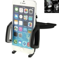 CST 360 Degrees Rotating Car Mobile Phone Holder Install on VehicleCD Player Disk Slot Stand Mount for iPhone 6 & 6S / Smartphone.Clip Size: 50mm-105mm - intl