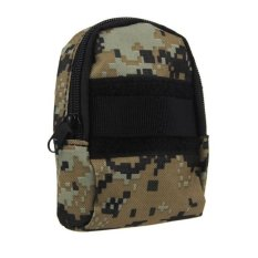 CTO Mini Practical Waist Tactical Camera Phone Accessory Bag For Outdoor Sports Digital Camouflage - Intl