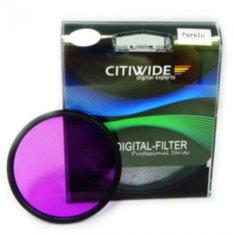 CW 77mm Purple Color Effect Filter