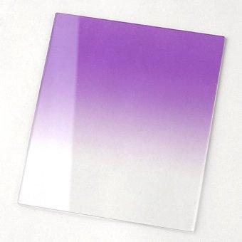 Cyber Gradual Purple Color Effect Balance Resin Filter Grad For Cokin P Series Lens