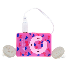 Sunweb Mini Clip Usb Mp3 Music Media Player with Micro Tf / Sd Card Slot Support 1 - 8Gb (Pink) (Intl)