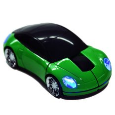 Cyber New 2.4G Car Shape Wireless Optical Mouse Mice For Laptop PC USB Receiver