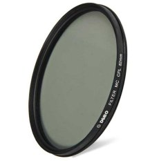 DEBO 82mm Diameter Camera CPL Filter For Photographer Shutterbug