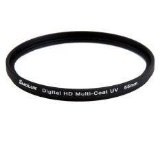 Digital Slim HD DLP MC-UV 55mm Filter For Sony (Intl)