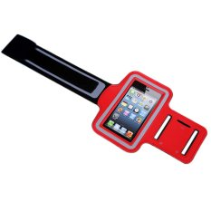 Durable Running Sports GYM Arm Band Pouch Case For Iphone5 5S (Red)