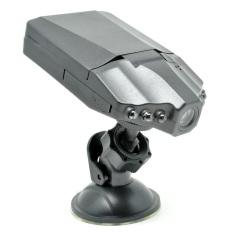 DVR Car Recorder 6 IR LED 2.5 Inch TFT Color LCD HD Car DVR Camera - PD-198 - Hitam
