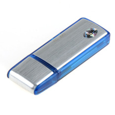 Easbuy U-Disk Digital Audio Voice Recorder Pen USB Flash Drive TF Card 8GB(Blue)