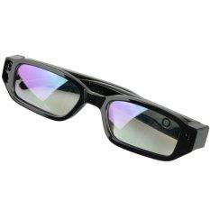 Easybuy Mini HD Spy Camera Glasses Hidden Eyewear DVR Video Recorder Cam Camcorder (Black) - Intl