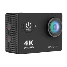 EKEN H9 Ultra HD 4K 25fps Wifi Action Camera 2-inch LCD Sports CamCamcorder (Black)