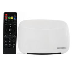 EMISH X700 Android 4.4 TV Box Quad Core 1G Full HD England Plug (White) (Intl)